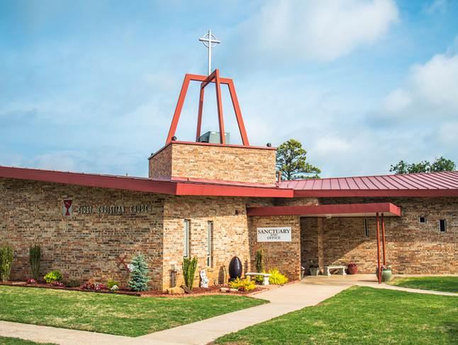 First Christian Church of Yukon Exterior